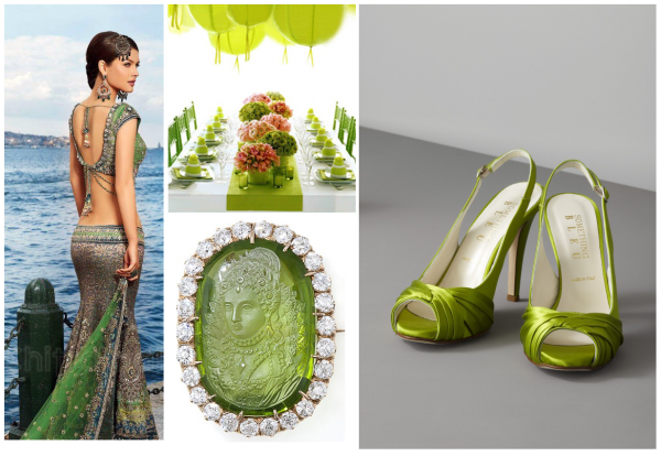 inspiration for your indian wedding using pantone fashion